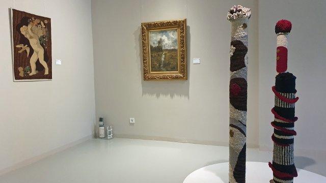 Ausstellungsansicht Reichardt, Baum Reichardt
