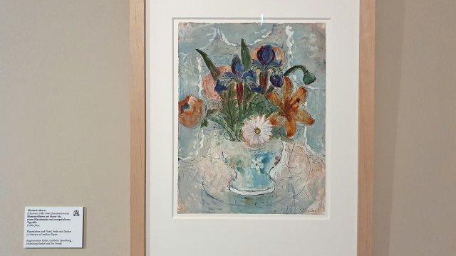 Elisabeth Ahnert - Ausstellung im Gartenbaumuseum