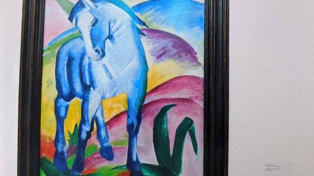 2 - Blaues Pferd von Franz Marc